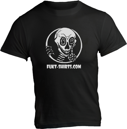 Shirt with Fukt Logo