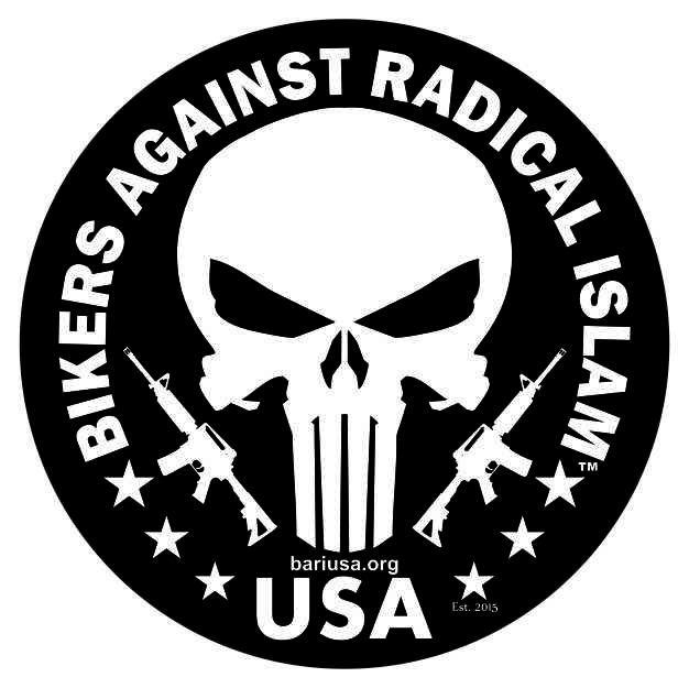 Bikers against radical islam stickers fukt shirts - Stickers islam ...
