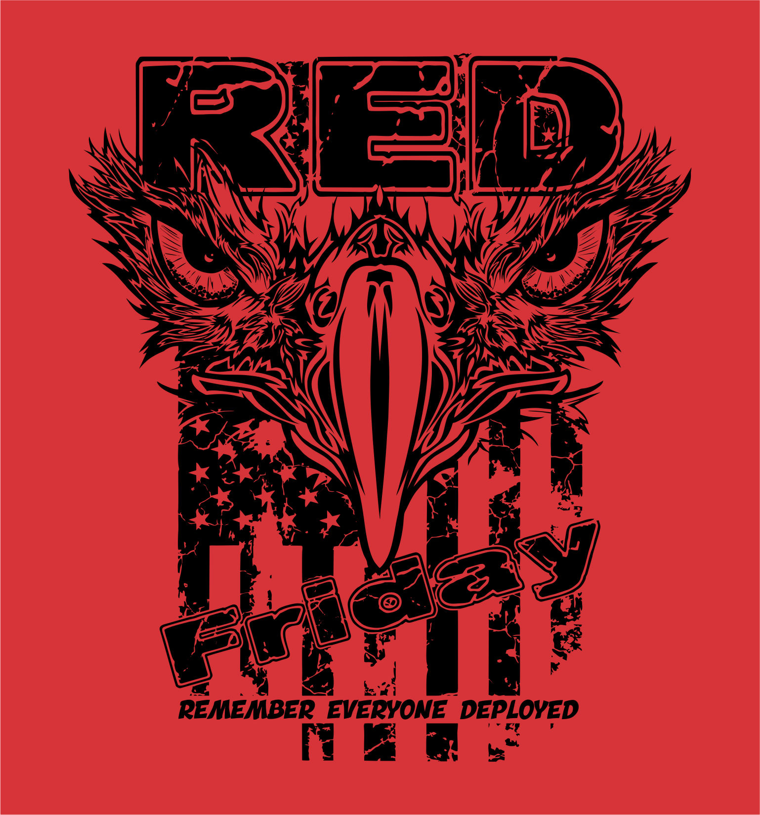 86b9092eb ... red friday remember everyone deployed t shirts ...